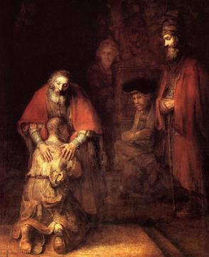The Return of the Prodigal - Rembrandt